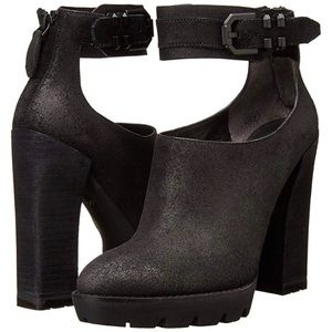 Kenneth Cole Otto Polished Leather Bootie